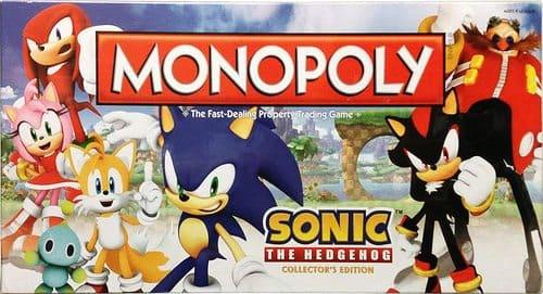 Portada Monopoly Sonic El Erizo 2013 - Edición Coleccionista