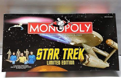 Portada Monopoly Star Trek - Edición Coleccionista Limitada