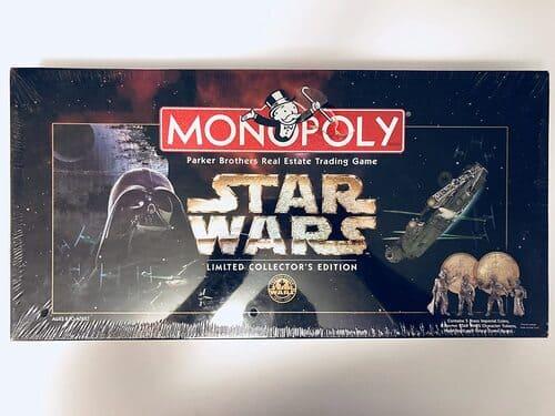 Portada Monopoly Star Wars 1997- Edición Coleccionista