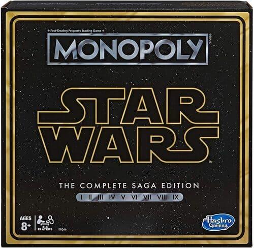 Portada Monopoly Star Wars Saga Completa - Edición Coleccionista