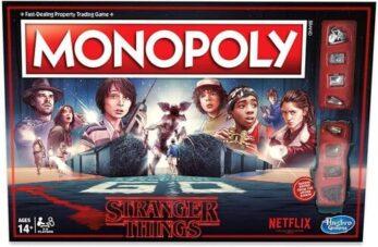Monopoly Stranger Things portada