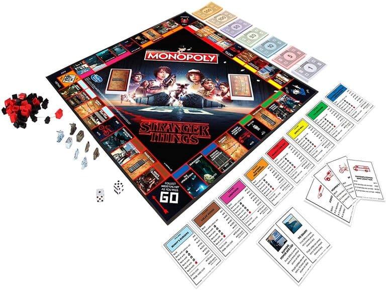 Monopoly Stranger Things Tablero
