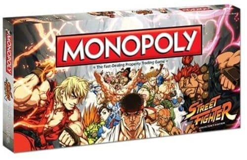 Portada Monopoly Street Figher - Edición Coleccionista