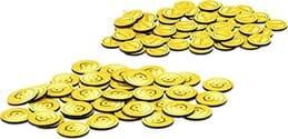 Monopoly super mario celebración monedas