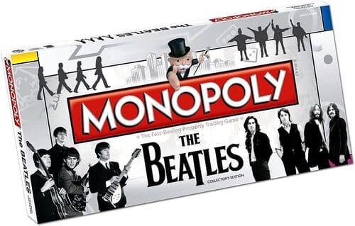Portada Monopoly Los Beatlles- Edición Coleccionista