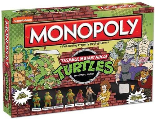 Portada Monopoly Tortugas Ninja - Edición Coleccionista