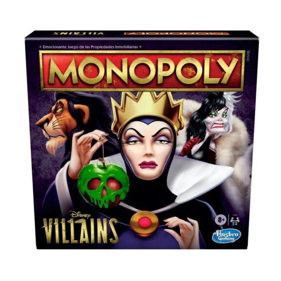 Monopoly Villanos Disney Portada