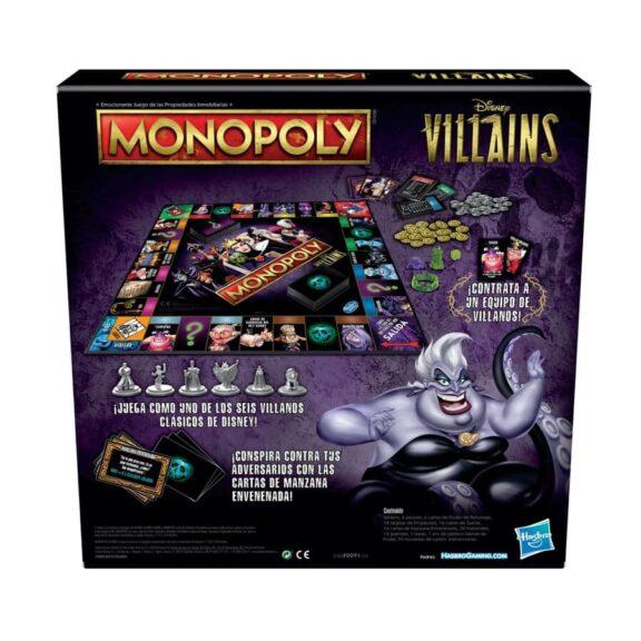 Monopoly Villanos Disney reverso