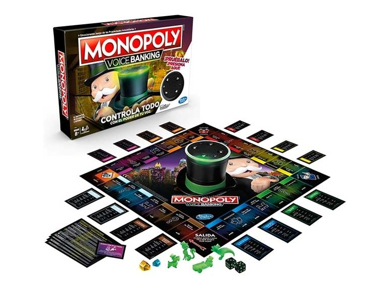 Monopoly Voice Banking Tablero