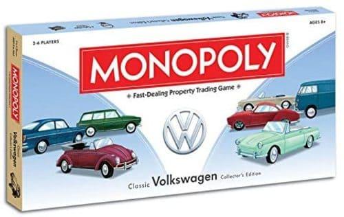 Portada Monopoly Volkswagen - Edición Coleccionista