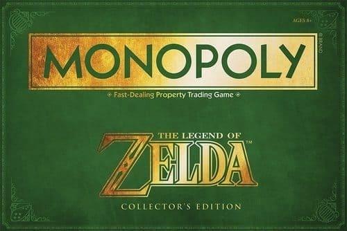 Portada Monopoly Zelda - Edición Coleccionista