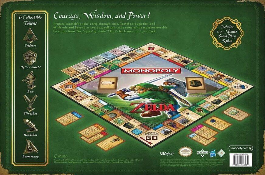 monopoly zelda reverso