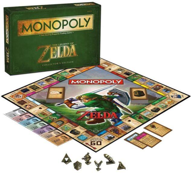 monopoly zelda tablero