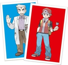 Pokemon cartas ash y profesor Oak